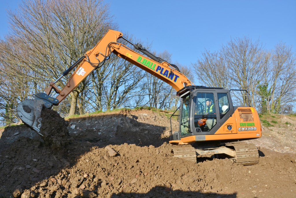 Case CX130D Self drive plant hire