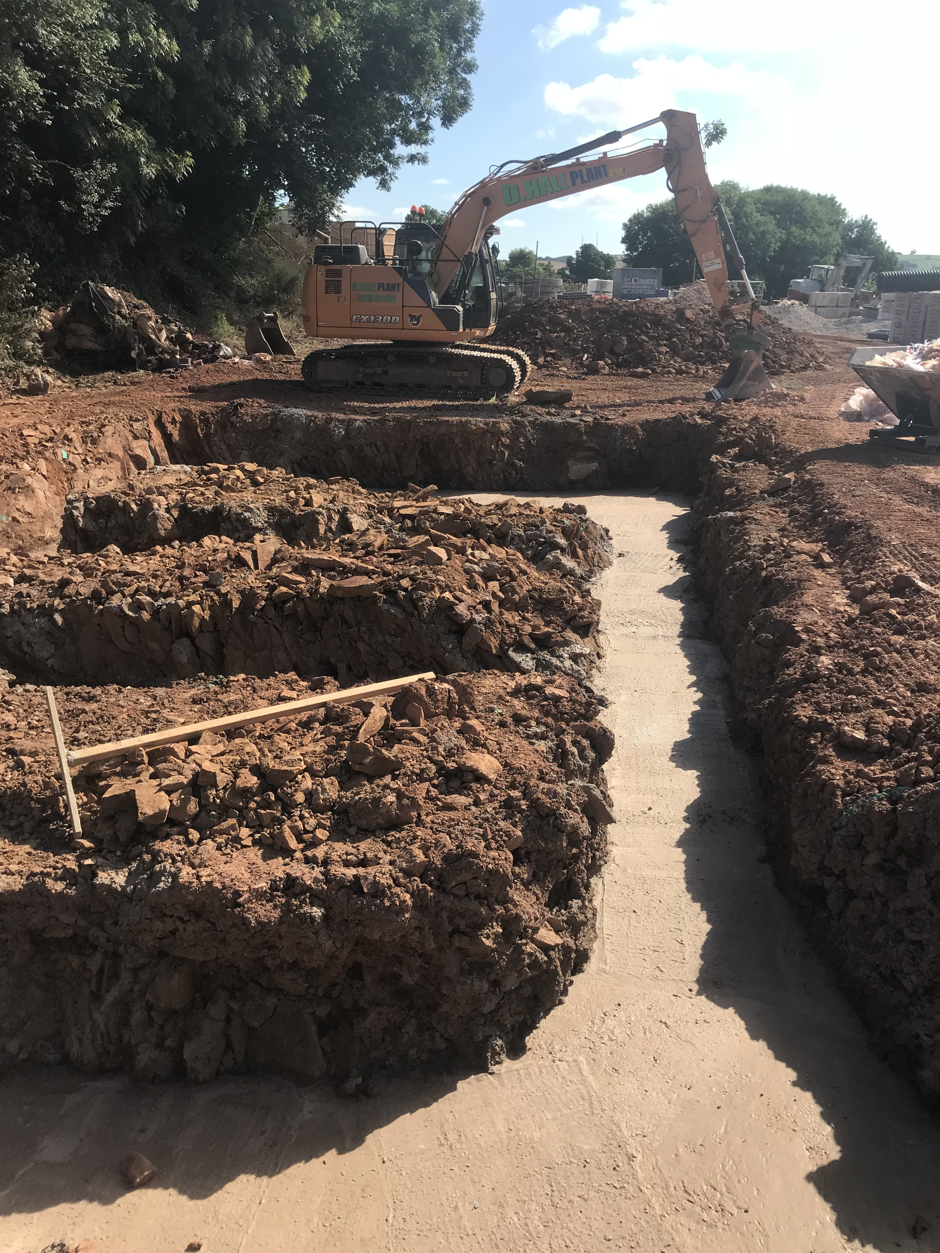 Groundworks, Excavation, Concrete Totnes