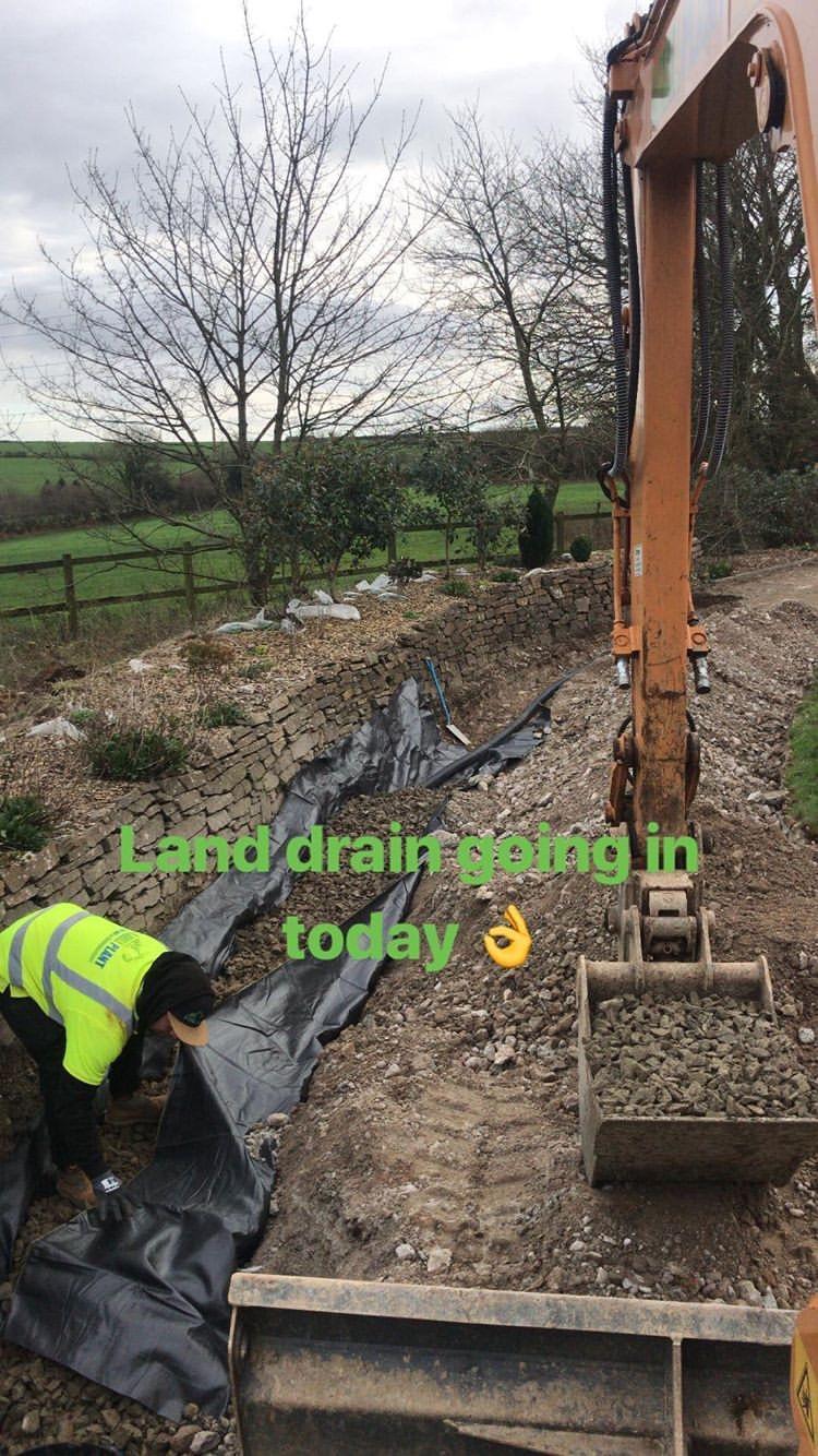 Land Drainage, Drainage, Field Drainage