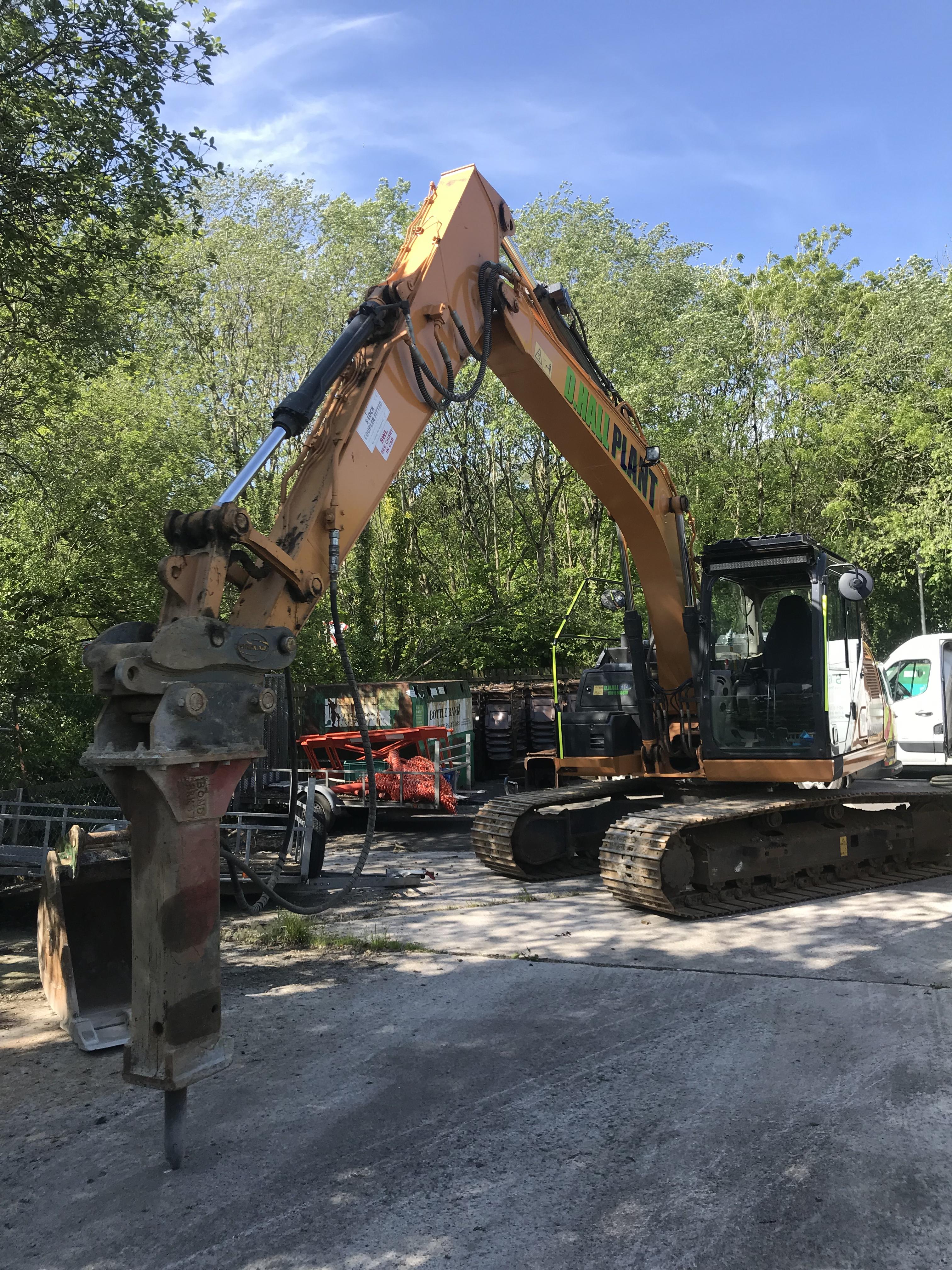 13Tonne Excavator Plymouth